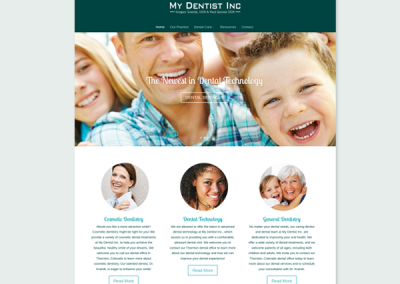 my-dentist-inc-website